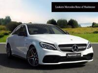 Mercedes-Benz C Class C63 AMG (white) 2017-04-11
