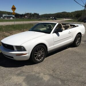 2007 Ford Mustang convertible BAS MILAGE 6500.00 FERME