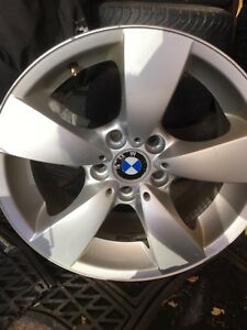 "Four 17"" Alloy Rims off 5 series BMW"
