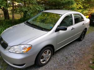 2007 Toyota Corolla (Low km)