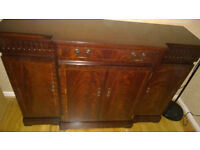 Strongbow solid mahogany sideboard