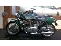 CLASSIC NORTON CAFE RACER