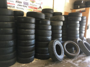 Gently used tires..