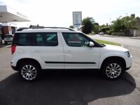 Skoda Yeti OUTDOOR ELEGANCE TDI CR (white) 2014