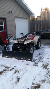5' County Cycle Atv snow plow
