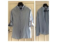 GUCCI BLUE SHIRT SIZE XL - will fit size 14uk Used