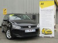Volkswagen Polo 1.4 SE 85PS (black) 2010