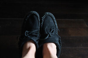 Black Moccasins For Sale