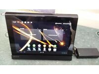 Sony Tablet S with original Sony Charger Cradle