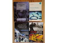 Criminal Law Books £20 for all 4