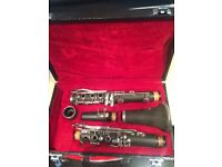 Reconditioned and serviced clarinet in new case