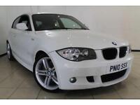 2010 10 BMW 1 SERIES 2.0 116D M SPORT 3DR 114 BHP DIESEL