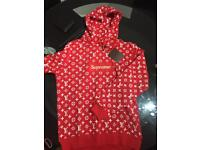 Supreme hoody red