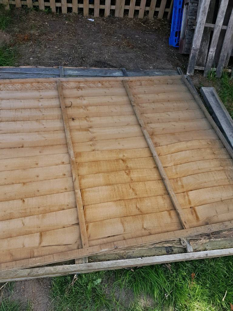 Fence panels wood in norwich norfolk gumtree fence panels wood baanklon Choice Image