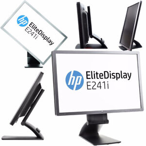 "HP 24"" LCD SCREEN HDMI DISPLAY PORT 1920X1200 E241i"