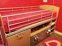 2 x Single Cabin Beds For Sale