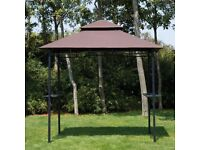 8ft Outdoor Double-tier BBQ Gazebo Shelter
