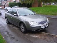 2.0 DIESEL MONDEO WITH LONG MOT - DRIVING WELL, MECHANICALLY 100% - P/X, TRADE IN, SWAPS WELCOME