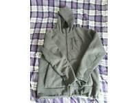 North Face fleeced hoodie size medium