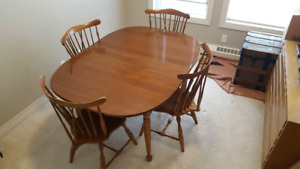Vilas Dining Room Set Table Chairs Buffet