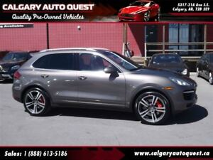 2011 Porsche Cayenne Turbo AWD/NAVI/B.CAM/PANO-ROOF/LEATHER