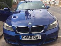 BMW 318d 2010 m sport blue for sale