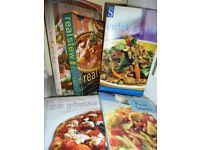 COOKERY BOOKS - INCLUDE REAL STEWS, PASTA, WOK, CHINESE