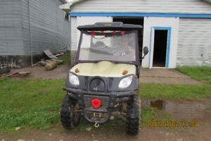 2013 Chironex Spartan 600 side by side 4x4 ATV