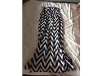Geri Halliwell Maxi Dress Size 8
