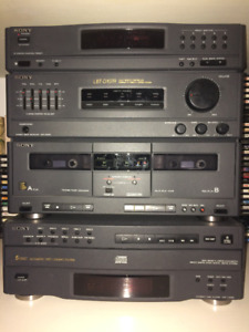 SONY Remote Controlled Stereo System