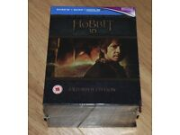 The Hobbit Trilogy Extended Edition 3D Blu-Ray NEW BLU-RAY - SEALED