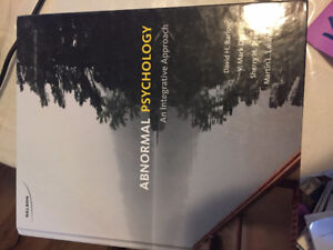 Abnormal Psychology: An Integrative Approach 4th ed.