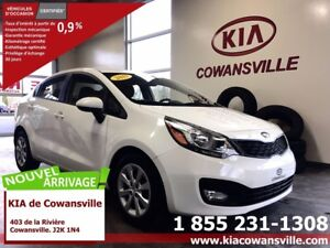 2013 Kia Rio LX+ AC SIEGES CHAUFFANTS BLUETOOTH CRUISE
