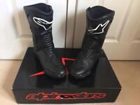 Alpinestars SMX motor bike boots size 10