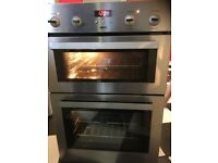 ** £70 ** REDUCED Zanussi built in double oven