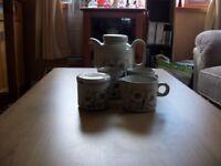 Hornsea Pottery Coffee Set