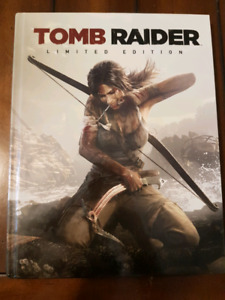 Tomb Raider hardcover strategy guide