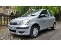 2005 TOYOTA YARIS 1.0 SEMI AUTO GENUINE 40000 MILES FROM NEW 1 FORMER KEEPER ALL PREVIOUS MOT'S