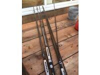carp rods century x3