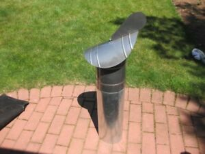 chimney flue draft extention