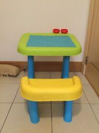 Child's activity desk