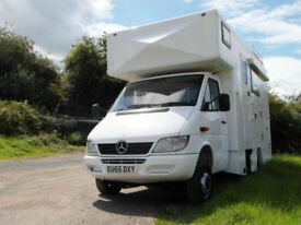 Mercedes Overlander 4x4 All Terrain - 4 Berth