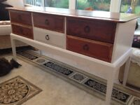 Upcycled Stag console table/sideboard