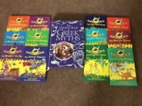 COLLECTION OF GREEK MYTH BOOKS