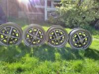 Rostyle MGB wheels X 4.