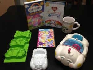Original Vintage Care Bears items collectable Kenner Cloud car