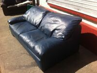 Leather suite : Free Glasgow delivery