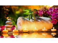 Beautiful relaxing massage