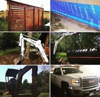 Pool Installation (insured and professional)