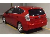 TOYOTA PRIUS HYBRID and PRIUS+ AUTO PCO READY FOR RENT / CAR HIRE UBER READY FROM 100 PWK
